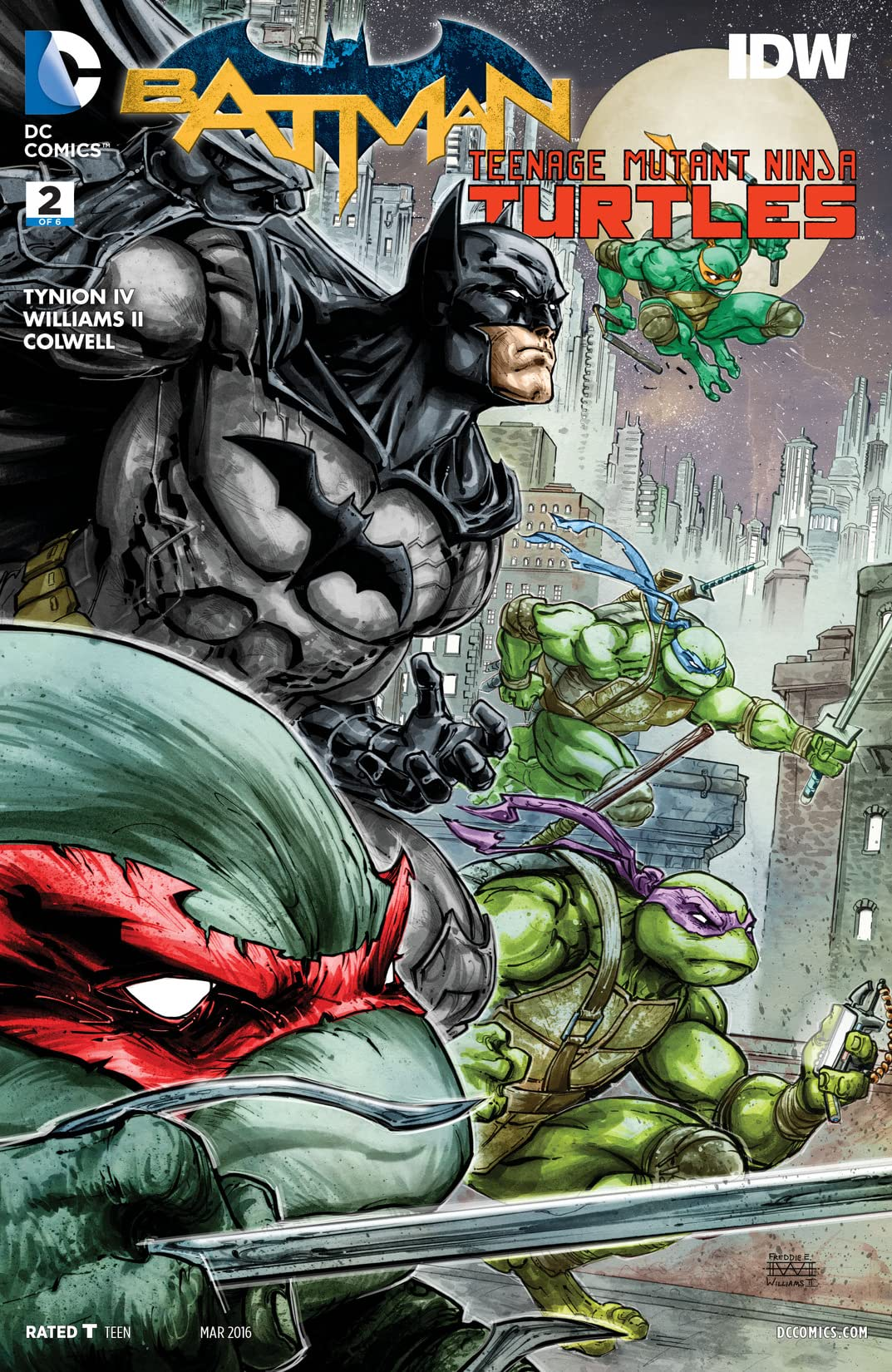 Batman/Teenage Mutant Ninja Turtles (2015-2016) #2