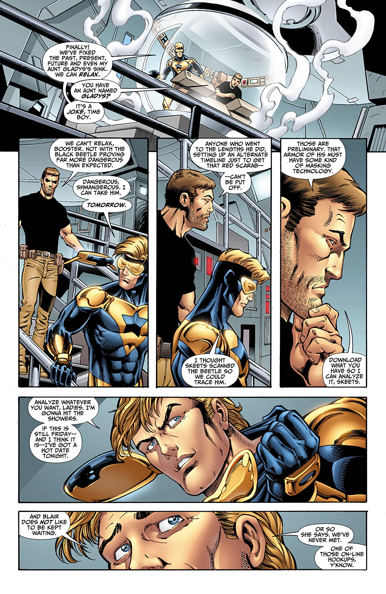 Booster Gold (2007-2011) #25