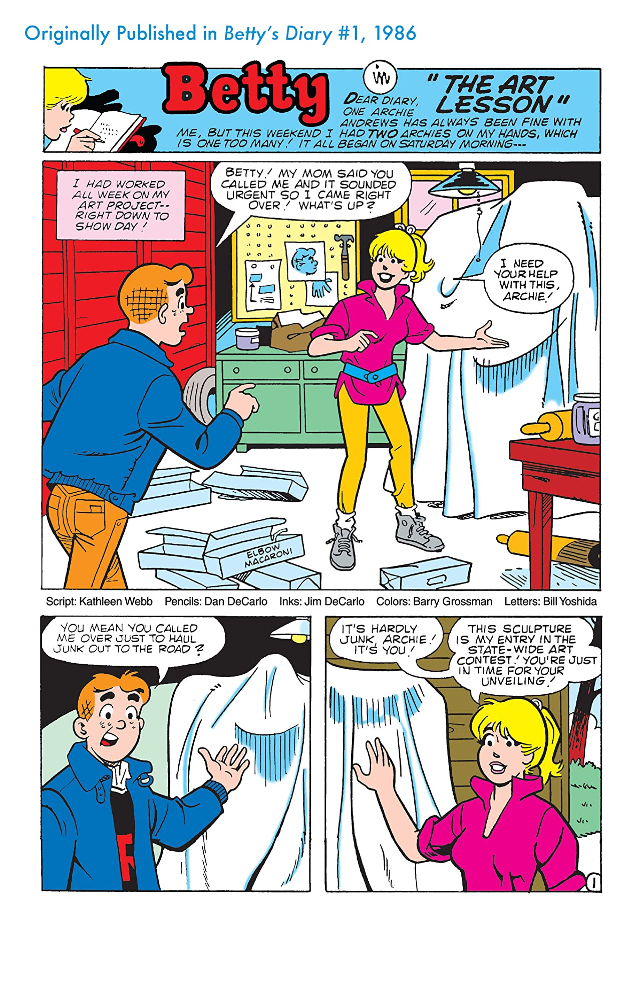 Archie 75 Series #7: Betty's Diary