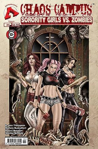Chaos Campus: Sorority Girls vs. Zombies No.4