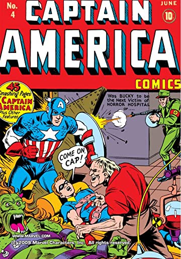 Captain America Comics (1941-1950) #4