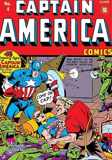 Captain America Comics (1941-1950) #4