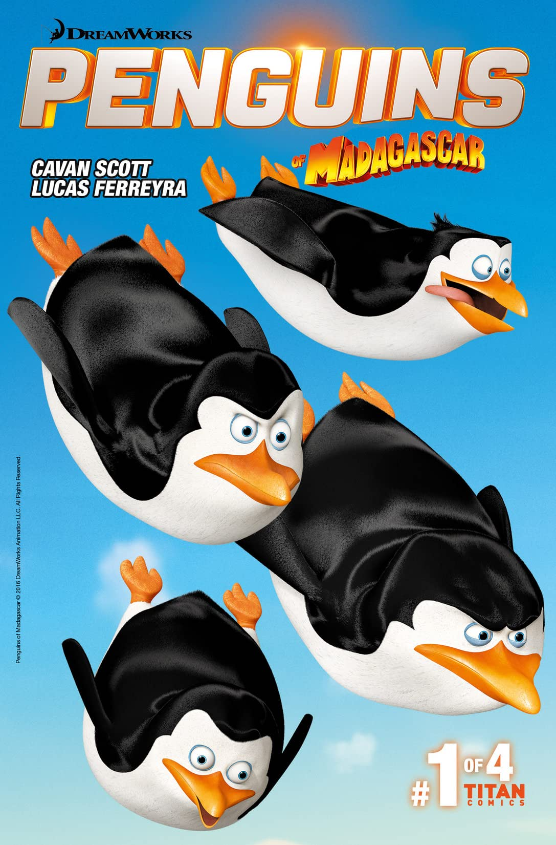 Penguins of Madagascar (2016-) #1