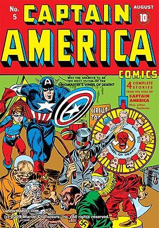 Captain America Comics (1941-1950) #5