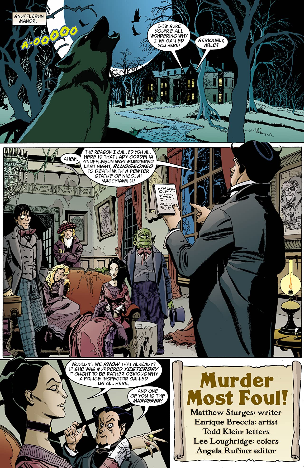 House of Mystery (2008-2011) #32