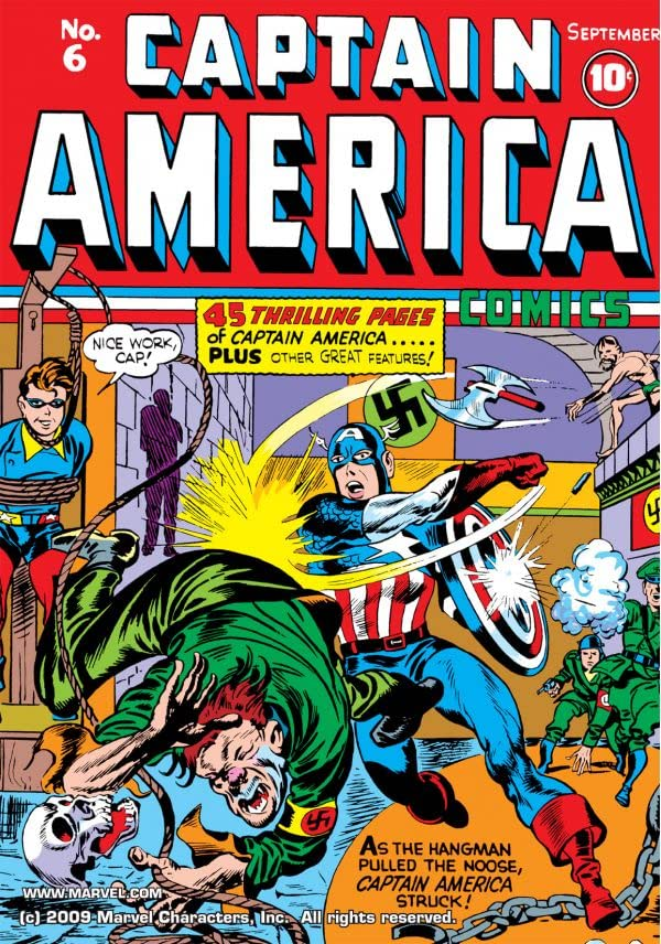 Captain America Comics (1941-1950) #6