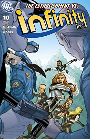 Infinity Inc. (2007-2008) #10