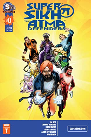 Supersikh and the Atma Defenders #0