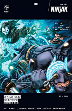 Ninjak (2015- ) #13: Digital Exclusives Edition