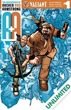 A&A: The Adventures of Archer & Armstrong #1: Digital Exclusives Edition