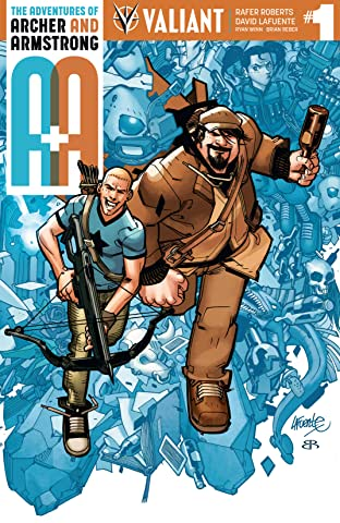 A&A: The Adventures of Archer & Armstrong No.1: Digital Exclusives Edition