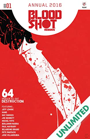 Bloodshot Reborn 2016 Annual #1: Digital Exclusives Edition