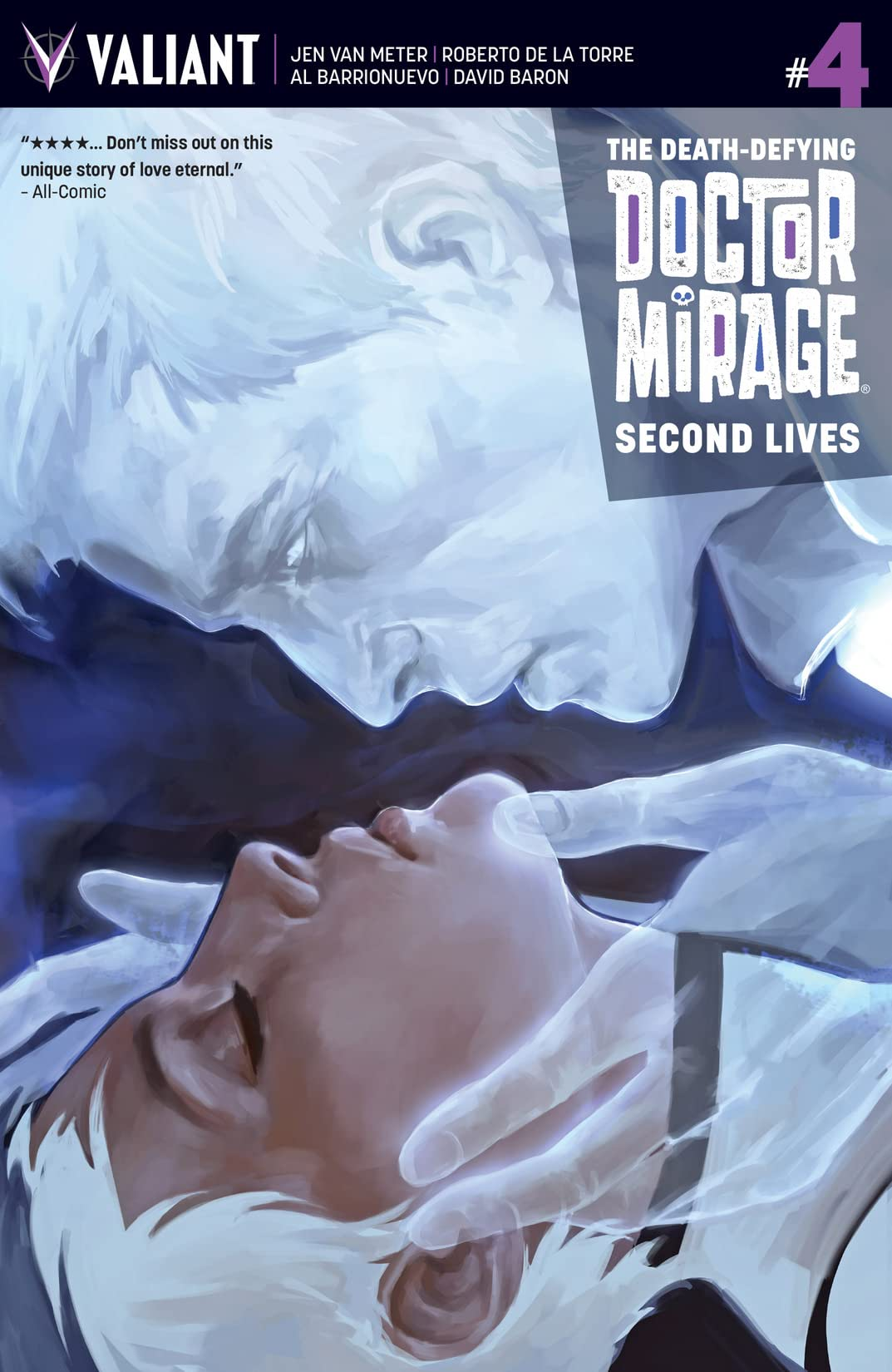 The Death-Defying Dr. Mirage: Second Lives #4: Digital Exclusives Edition