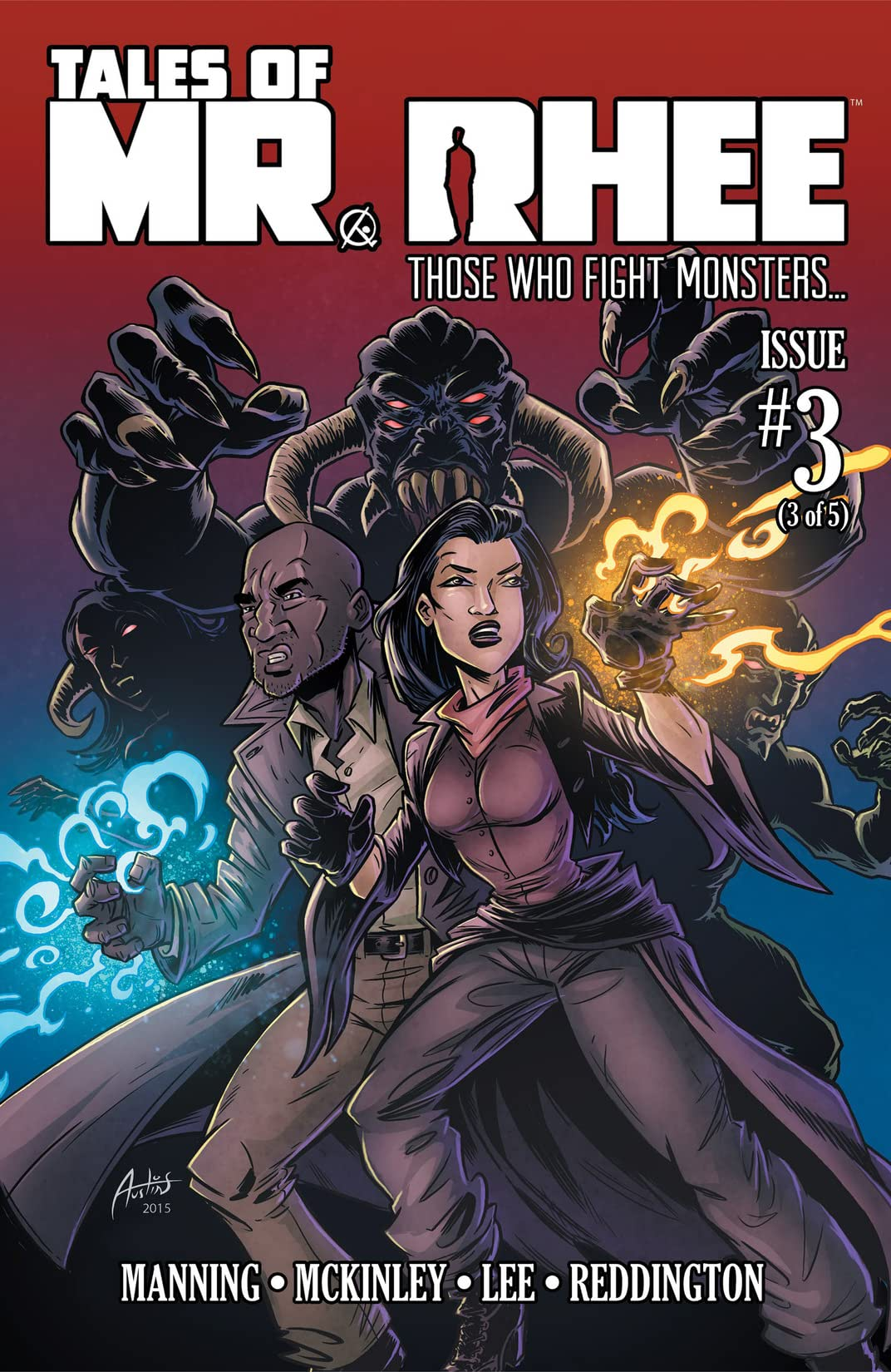 Tales of Mr. Rhee Vol. 3: Those Who Fight Monsters #3