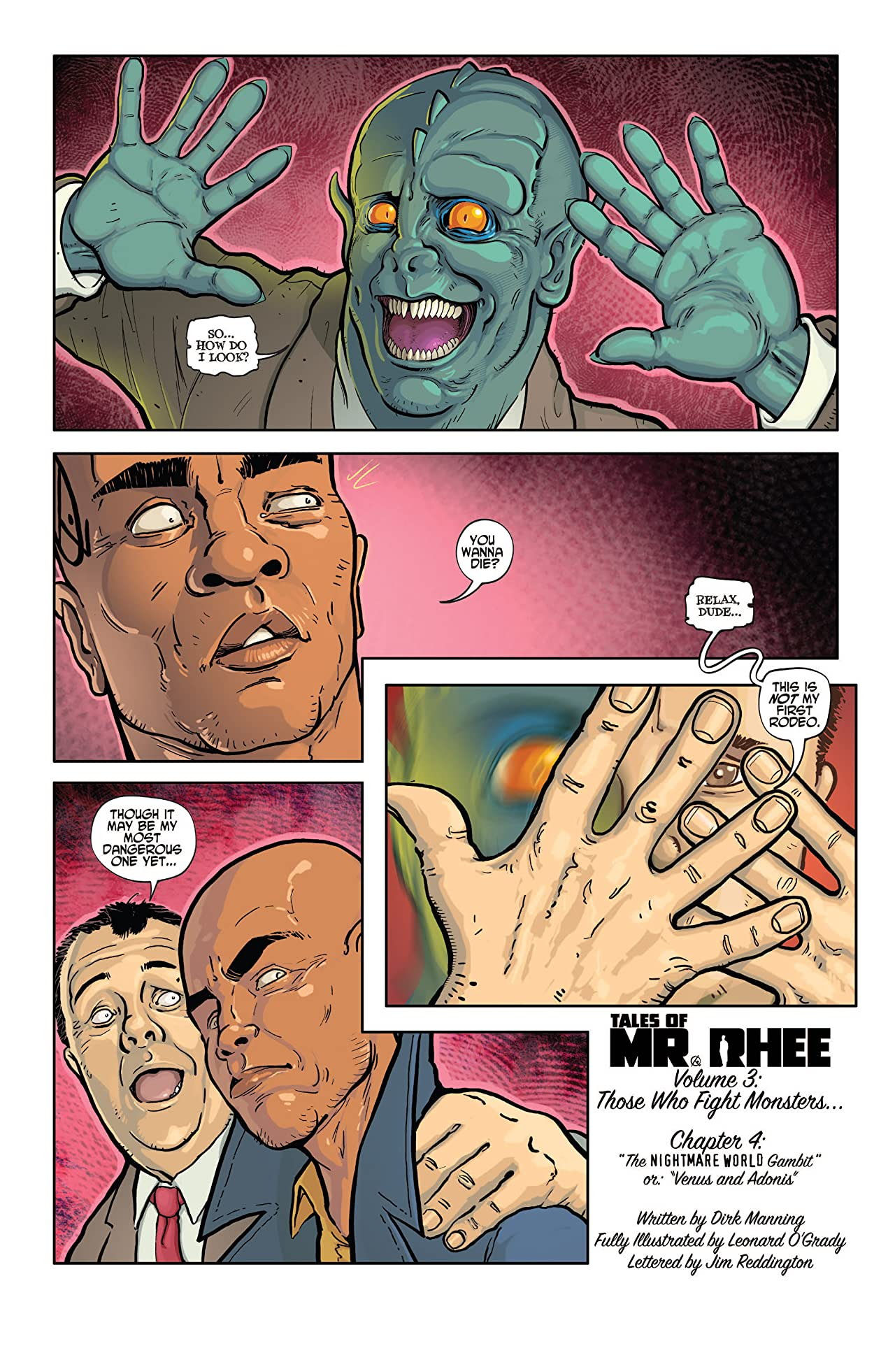 Tales of Mr. Rhee Vol. 3: Those Who Fight Monsters #4