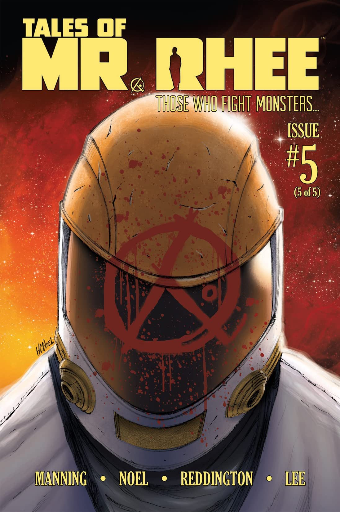 Tales of Mr. Rhee Vol. 3: Those Who Fight Monsters #5