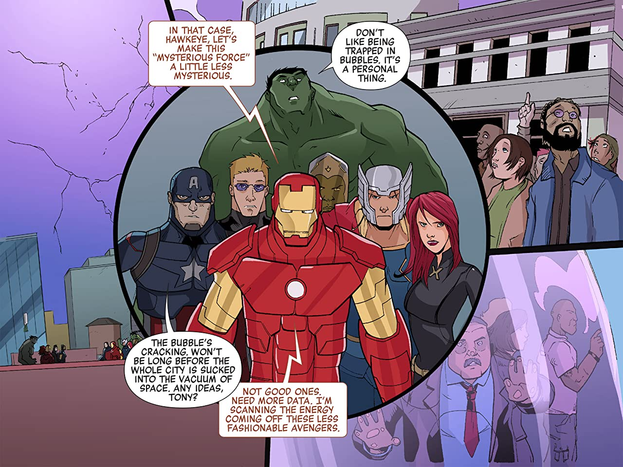 Marvel Universe Avengers Infinite Comic #3