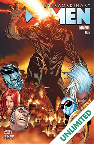 Extraordinary X-Men (2015-2017) #5