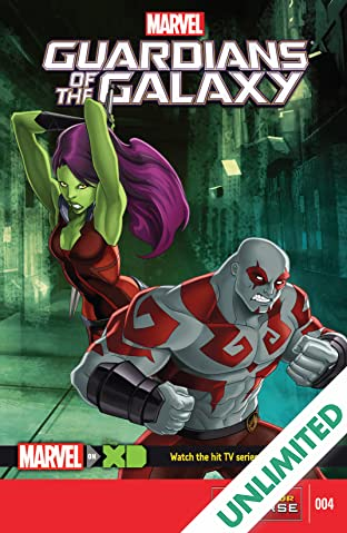 Marvel Universe Guardians of the Galaxy (2015-) #4