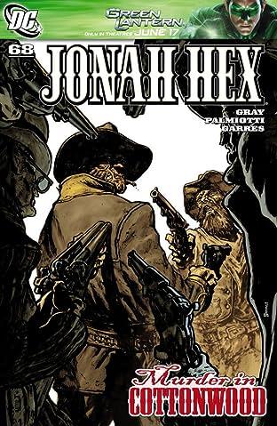 Jonah Hex (2006-2011) #68