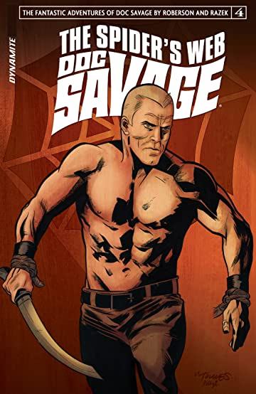 Doc Savage: The Spider's Web #4: Digital Exclusive Edition