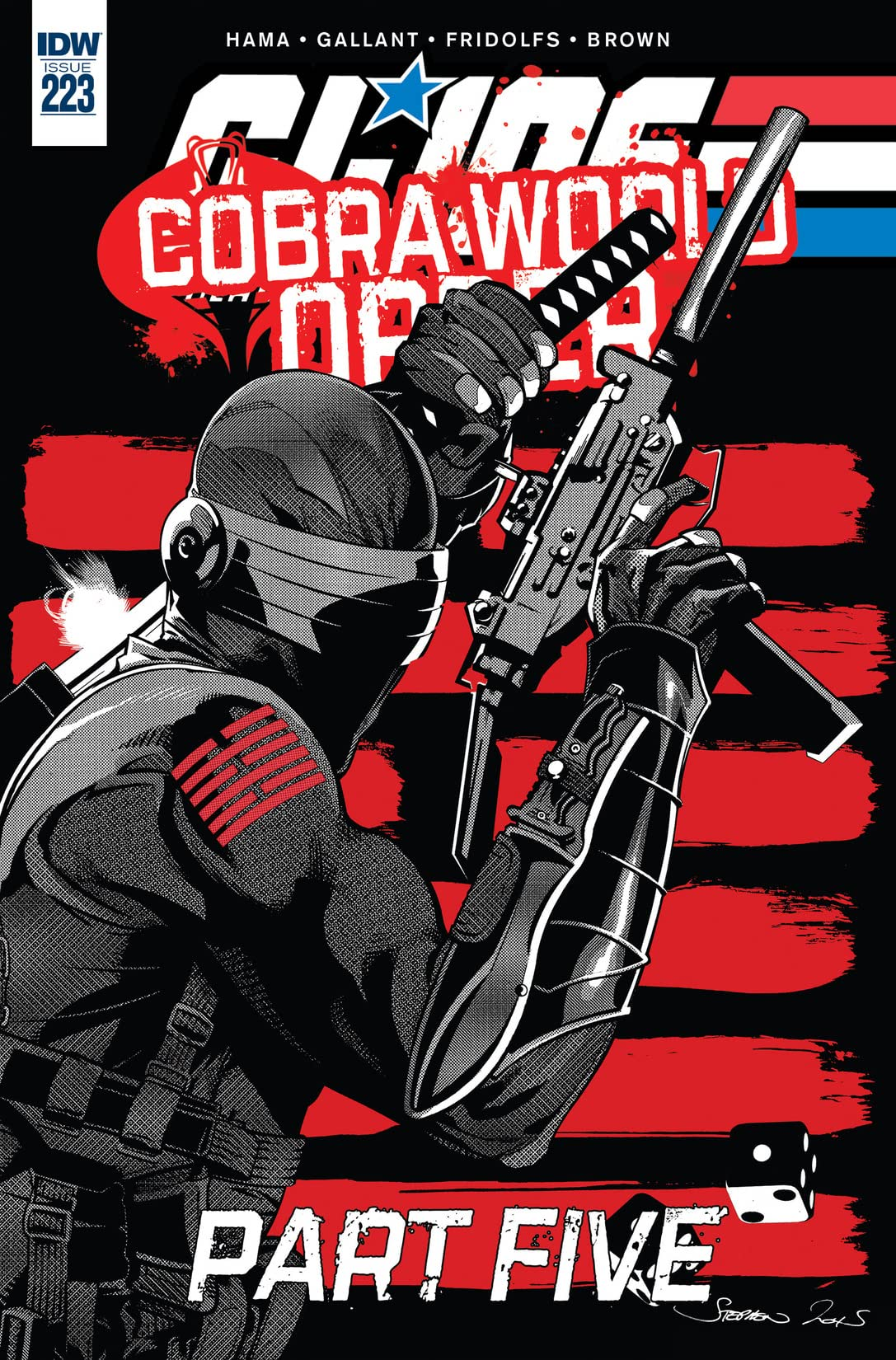 G.I. Joe: A Real American Hero #223
