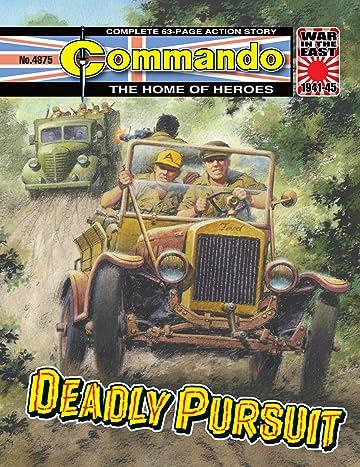 Commando #4875: Deadly Pursuit