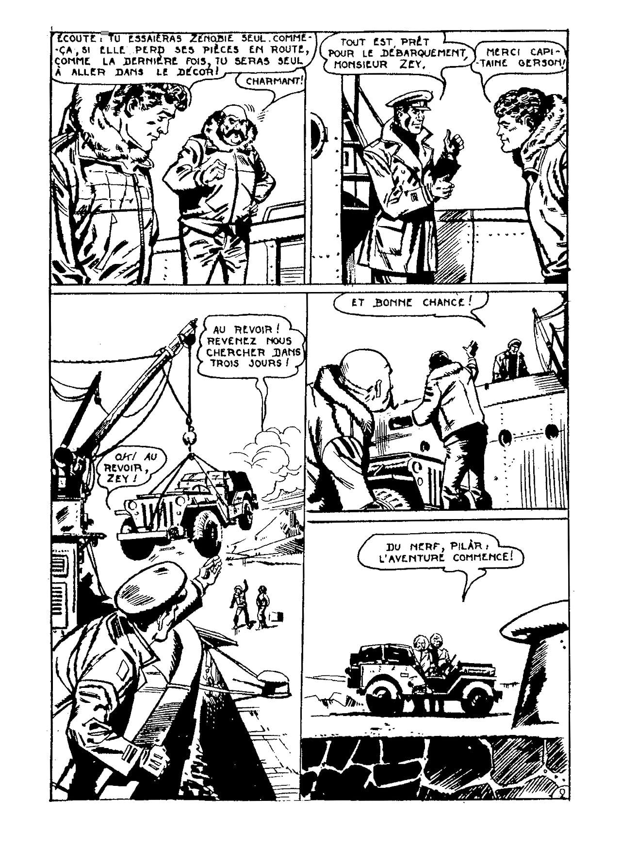 ROD ZEY Vol. 2: Glaces Tragiques