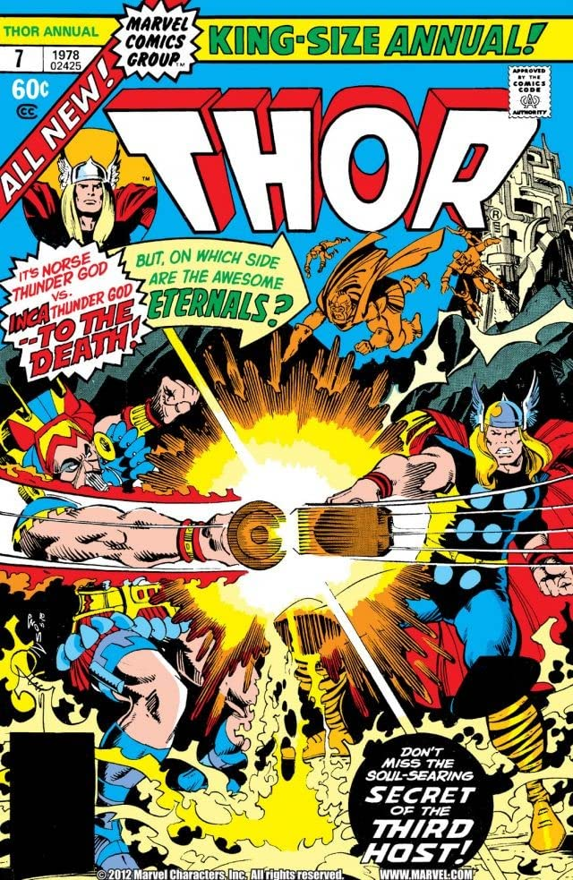 Thor (1966-1996) Annual #7
