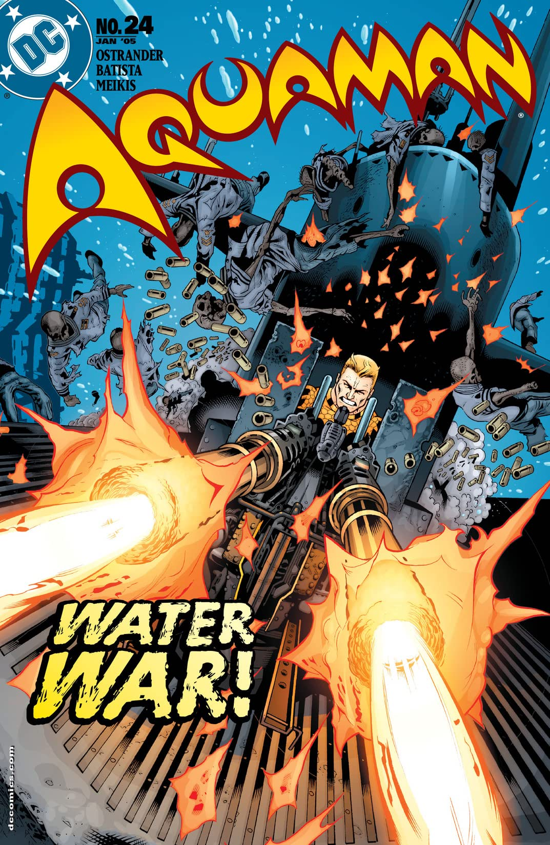 Aquaman (2003-2006) #24