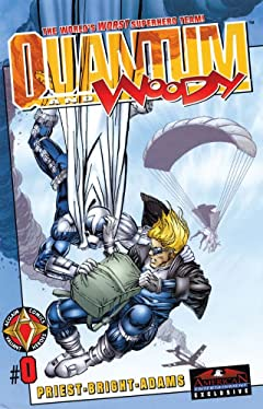 Quantum and Woody (1997-2000) No.0
