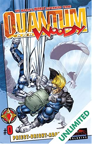 Quantum and Woody (1997-2000) #0