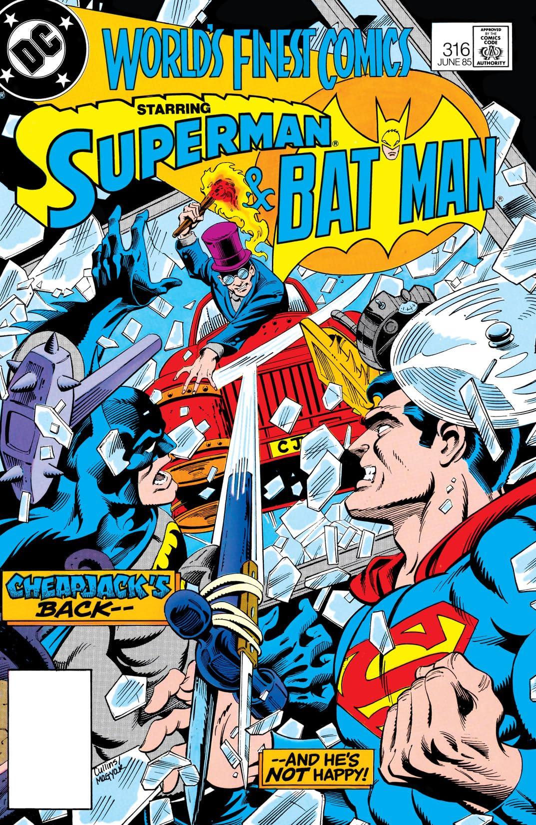 World's Finest Comics (1941-1986) #316