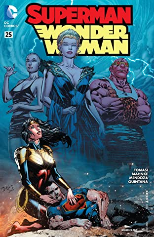 Superman/Wonder Woman (2013-2016) #25