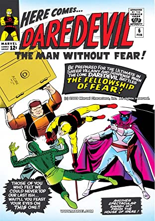 Daredevil (1964-1998) No.6
