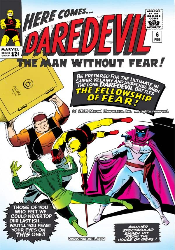 Daredevil (1964-1998) #6