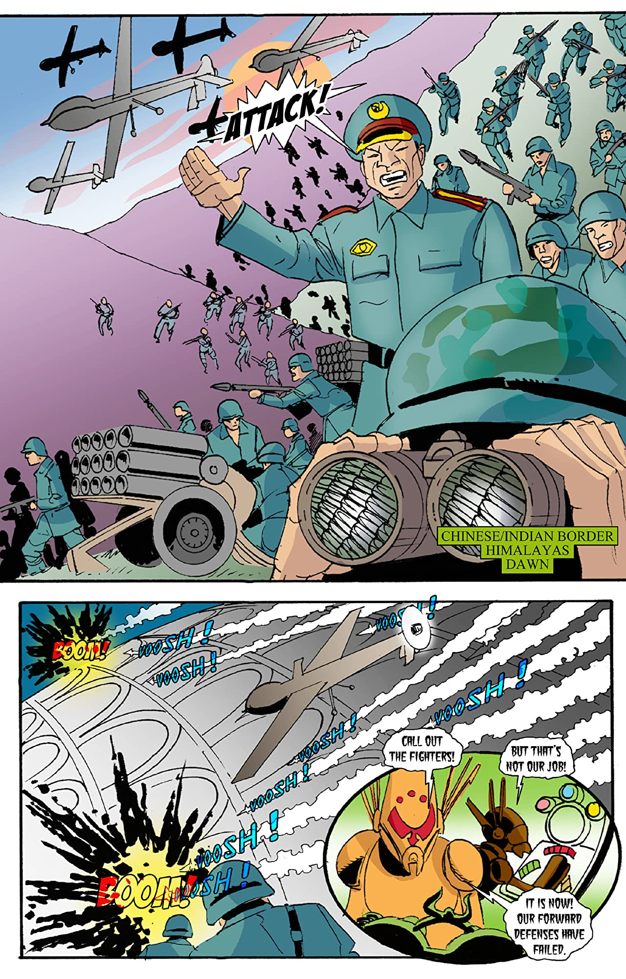 E.I. - Earth Invasion #14