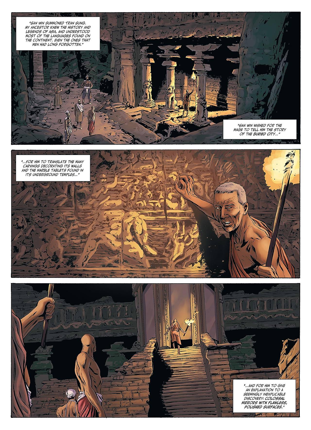 Mandalay Vol. 1: The Dark Mirrors