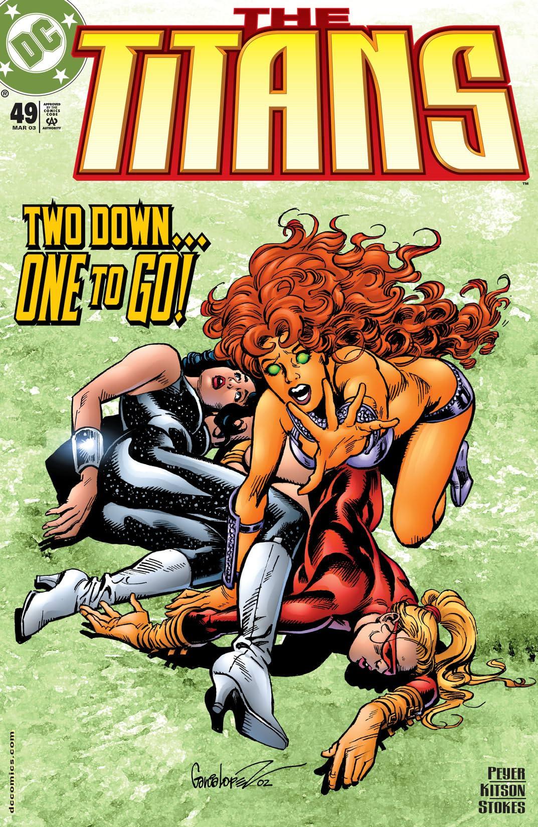 The Titans (1999-2003) #49