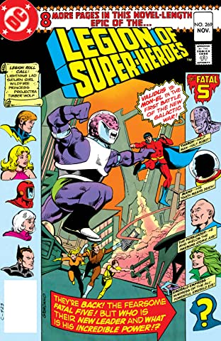 Legion of Super-Heroes (1980-1984) #269