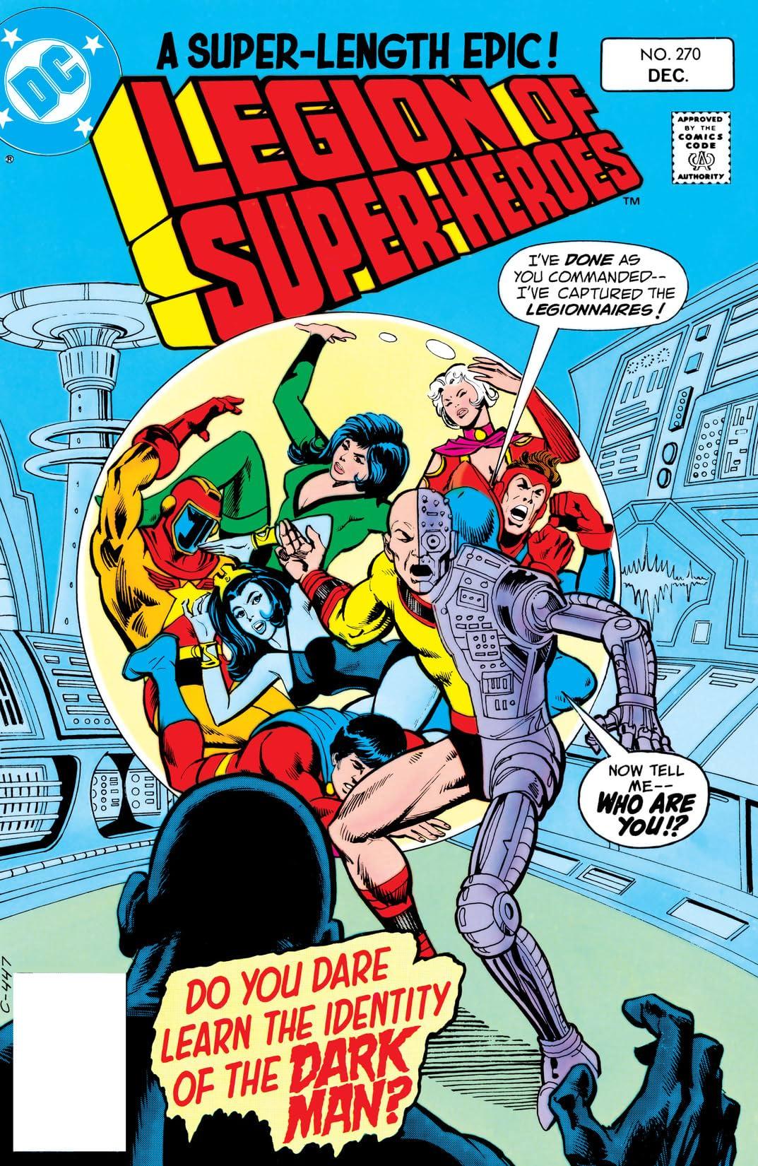 Legion of Super-Heroes (1980-1985) #270