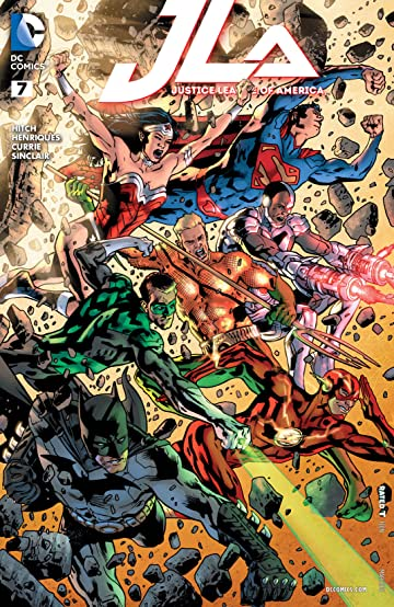 Justice League of America (2015-2016) #7