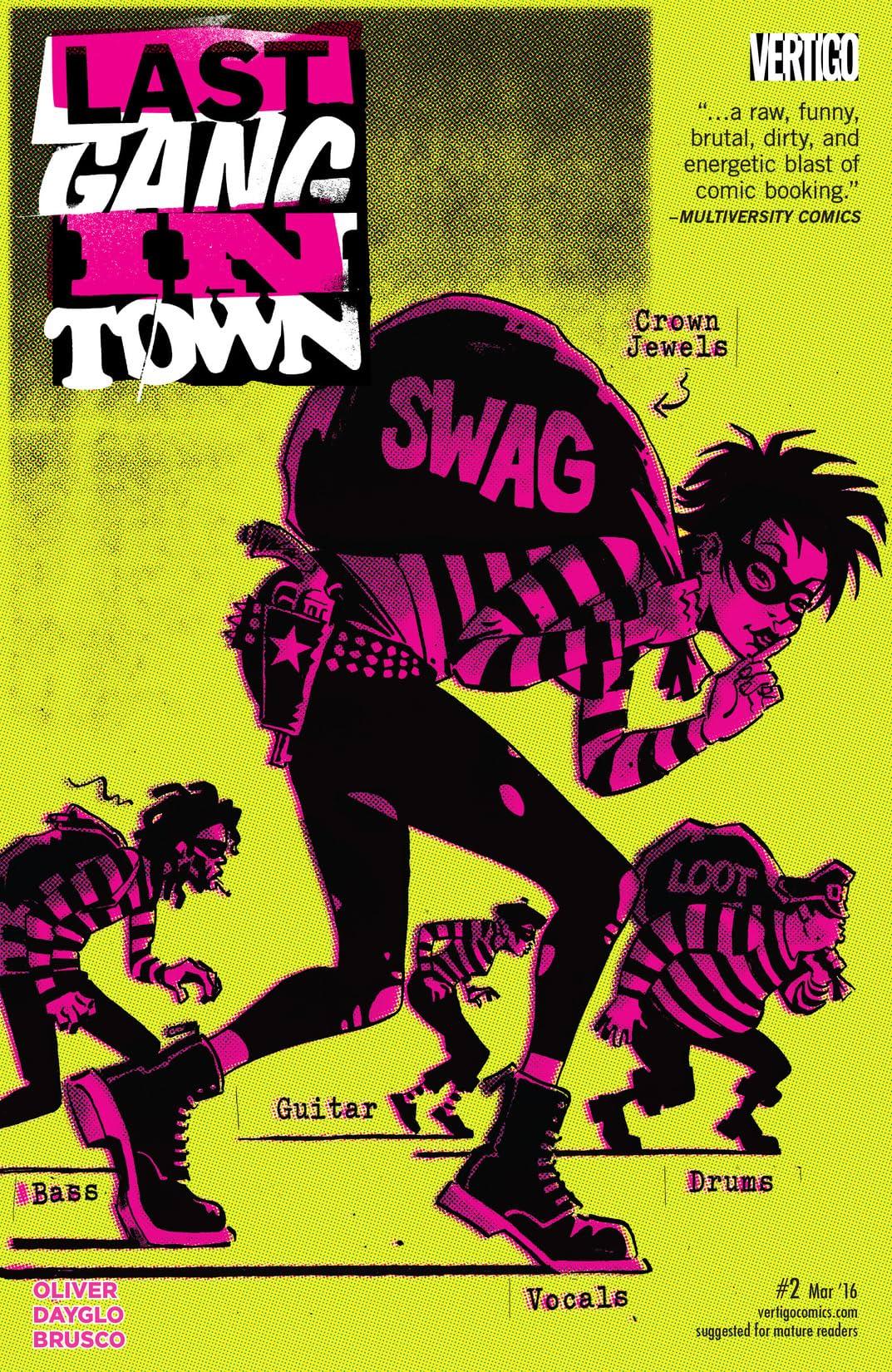 Last Gang in Town (2015-2016) #2