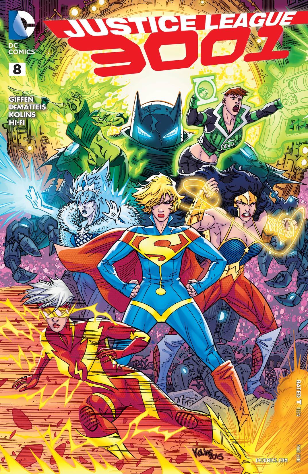 Justice League 3001 (2015-2016) #8