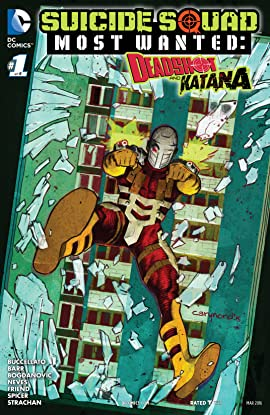 Suicide Squad Most Wanted: Deadshot and Katana (2016) #1