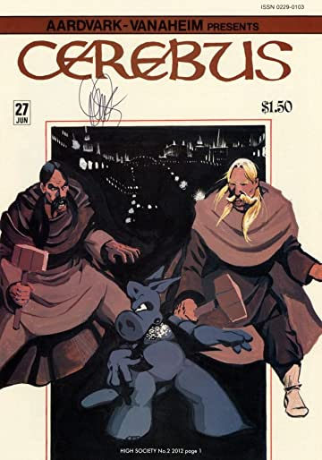 Cerebus Vol. 2 #2: High Society
