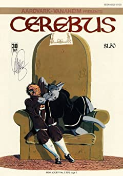 Cerebus Vol. 2 #5: High Society