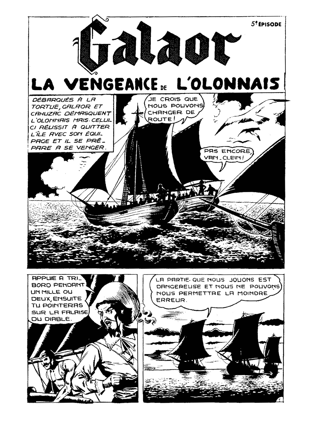 GALAOR Vol. 5: La Vengeance de L'Ollonais