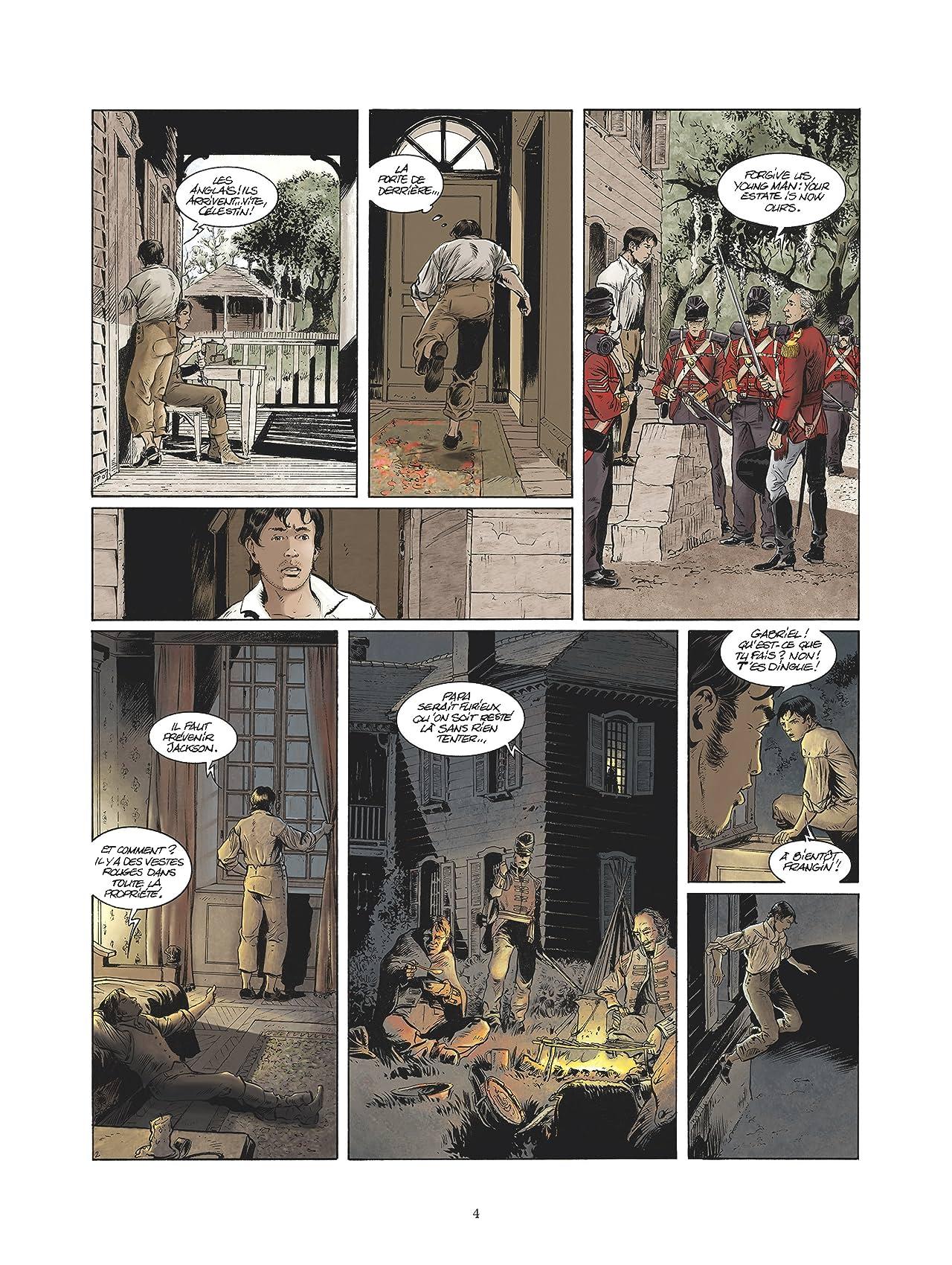 Les pirates de Barataria Vol. 9: Chalmette