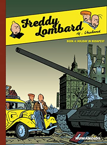 Freddy Lombard Vol. 4: Holiday in Budapest